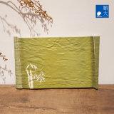Dîner de la vaisselle Ware Surface mate vert bambou coffre en plastique durable de la mélamine Rectangle distinctif/plaque rectangulaire