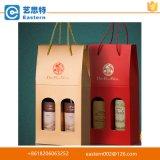 Мешок высокого качества напечатанный тавром бумажный для упаковки вина