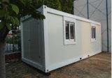 Het prefab Huis van de Container voor Bureau van Bouwwerf