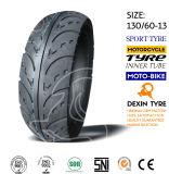El sur de la motocicleta del neumático del deporte de América parte el neumático 130/70-13 de la motocicleta del neumático de la motocicleta de la vespa