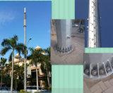 Antenna autosufficiente tubolare galvanizzata Palo del TUFFO caldo per la telecomunicazione
