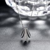 925 echte Zilveren Juwelen Drie de Tegenhanger van de Kogel met de Tsjechische Halsband van de Tegenhanger van de Boor