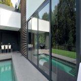 La rottura termica profila il portello scorrevole di alluminio con vetro