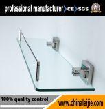 現代デザイン浴室のハードウェアガラスの棚