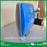 Алюминиевая рама акриловый вакуумный виде наружной рекламы освещения в салоне