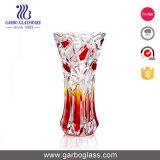 Красивые цвета цветок шлифовки стекла Ваза для украшения