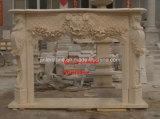 Камин и мраморный камин/солнечный мраморным камином