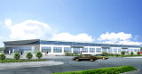 Estructura de acero prefabricada edificio de oficinas (KXD-SSB137)