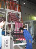Máquina que sopla del color Sj-45 de la película doble del PE (CE)