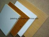 Acabado de grano de madera Papel de melamina MDF