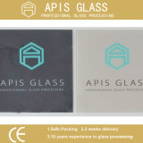 3-12mm 실크 Screen Printing Glass/Painted 또는 Decorative/Colored Glass/Ceramic Fritted Painting Toughened Glass
