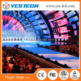 Pista de baile video del LED para la etapa y la boda