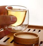 Alta tazza di tè doppia della tazza di tè di resistenza termica