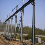 Industrielle Stahlvorfabriziertwerkstatt in Mosambik