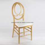 金ポリカーボネートの樹脂のフェニックス無限Chiavariの椅子