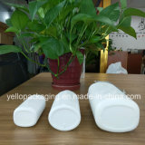 Botella plástica del envase de plástico de la buena calidad para el polvo de talco del bebé