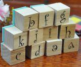 Timbre d'album en bois personnalisé pour les kits de bricolage