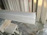 O gesso branco puro cornija com pó de natural e fibra de vidro reforçada