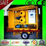 移動式真空の変圧器オイル浄化機械、オイルのフィルタに掛ける機械