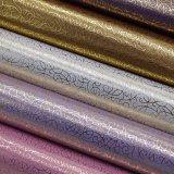 Weinlese-Entwurf nichtgewebtes PU-Leder, Leder für Dekoration