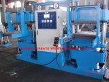 Venta caliente completo automático de goma moldeado de la prensa con la estación de Dos