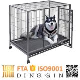 Quadratische Stahlgefäß-Hundehundehütte
