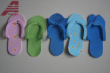 Deslizadores de EVA, sandálias da praia, deslizadores de Dispossible