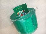 녹색 명확한 또는 회색 PVC 지구