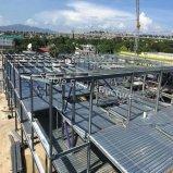 Prefabric Stahlkonstruktion-Baumaterial, zum der Verarbeitungsanlage aufzubauen