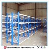 Racking industrial de aço personalizado do armazenamento da extensão larga