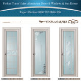 別の艶出しのアルミニウム内部の浴室のドア