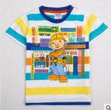 La nouvelle de l'été 2014 travailleurs de la construction d'usure d'enfants Le garçon Coton T-Shirt à manches courtes