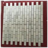 Белый мрамор камень мозаика для пола/ стены проекта в качестве декоративных материалов