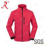 Desportos ao ar livre depósito vestir um casaco Softshell (QF-4037)