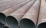 Tubo de acero REG 5L de la API X42 X52, tubo de acero LSAW Negro soldado