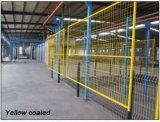 Coated желтый порошок панели загородки конструкции 1830mm x 3000mm Canadan временно