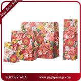 野生の花のギフトはギフトのペーパー花のショッピング・バッグを袋に入れる