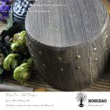 Barril de madera quemado aduana Wholesale_F del café o del té del color de Hongdao