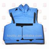 Fuerza pacificadora azul profesional del chaleco de la prueba de la bala
