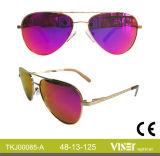 Les enfants des lunettes de soleil Lunettes de métal (85-C)