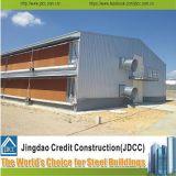 Estructura de acero prefabricada de la alta calidad para la casa de pollo