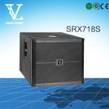 "Srx718s는 18를 "" Subwoofer로 직업적인 건강한 장비 골라낸다"