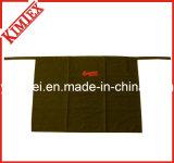 100% algodón bordado de promoción de la mitad de la cocina delantal de cintura