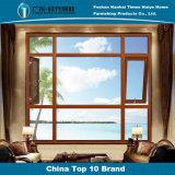 別荘のための二色の多重機能安全なアルミニウム開き窓Windows