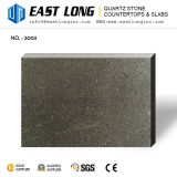 Bon marché artificiel de gros grains de quartz Noir pierre mousseux