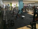 Anti-moeheid die RubberTegels voor Gymnastiek met elkaar verbinden