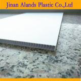 Corflute blanco de la junta de plástico corrugado flauta