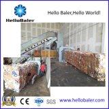 Automatische horizontale hydraulische Ballenpresse mit Förderanlage