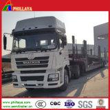 Serres-câble en bas de camion de transporteur de véhicule de 10 de jeux essieux des cylindres deux