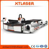 Máquina de estaca pequena do laser da fibra do tamanho da elevada precisão, cortador do laser do metal 500W